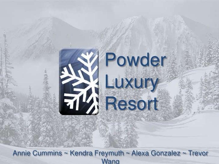 Powder Presentation