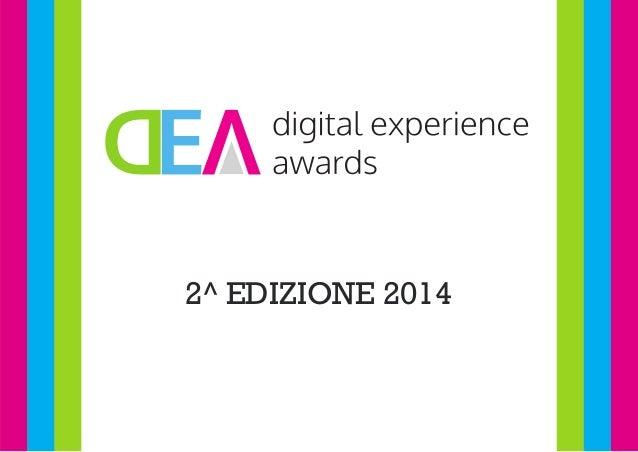 I vincitori del Digital Experience Awards