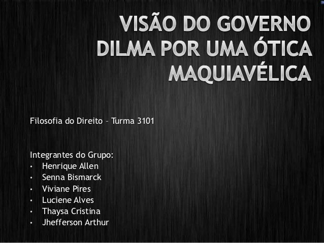 Filosofia do Direito – Turma 3101Integrantes do Grupo:• Henrique Allen• Senna Bismarck• Viviane Pires• Luciene Alves• Thay...