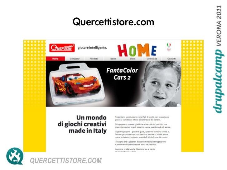 Case history: Quercetti Store
