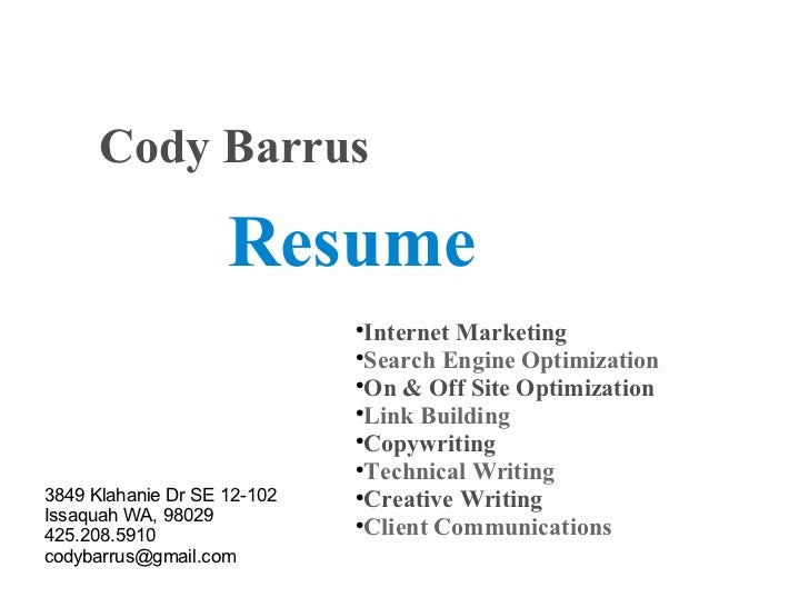 resume writing services manhattan