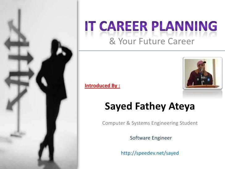 IT Career Planning