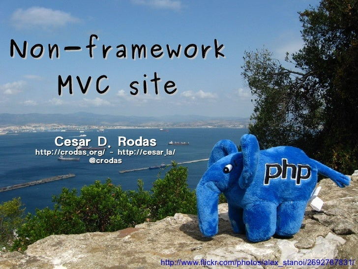 Non-Framework MVC sites with PHP