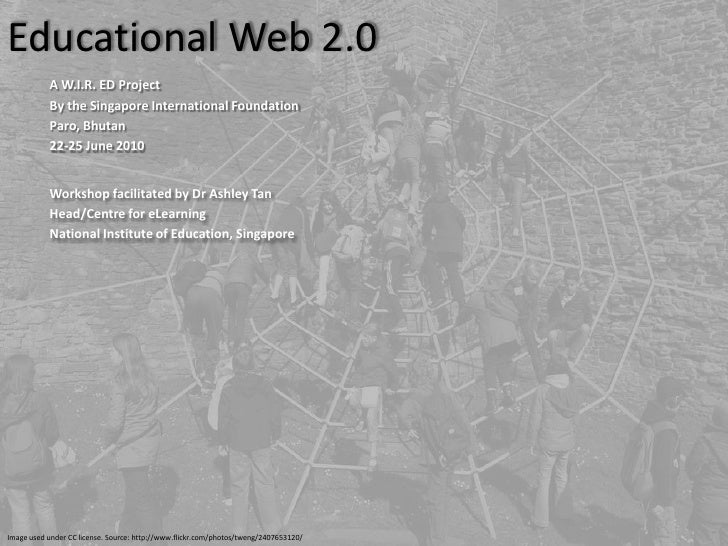 Educational Web 2.0