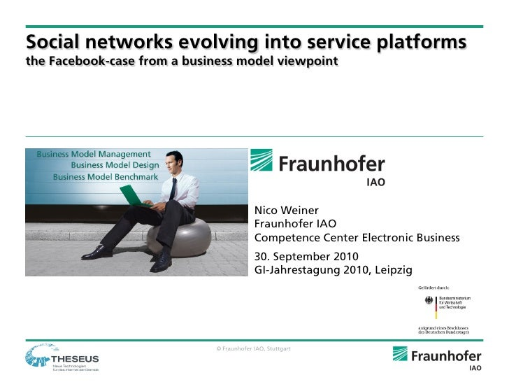 Social networks evolving into service platforms the Facebook-case from a business model viewpoint                         ...