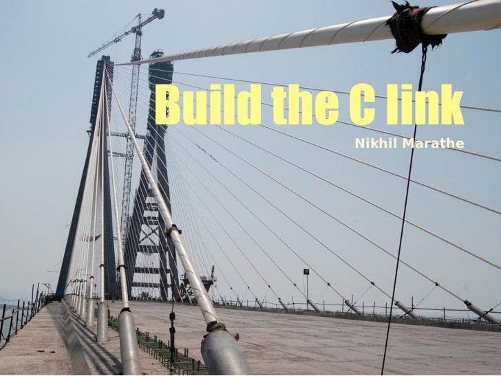 Build the C link          Nikhil Marathe