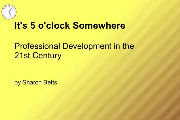 It\'s 5 o\'clock Somewhere