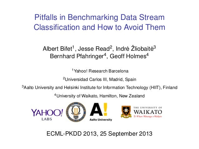 Pitfalls in benchmarking data stream classification and how to avoid them