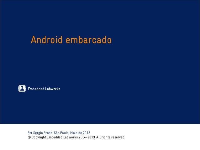 Treinamento Android Embarcado