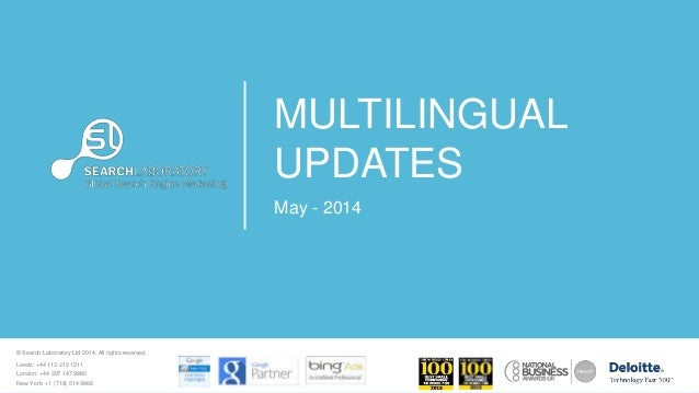 What's New in Global Ecommerce - May 2014