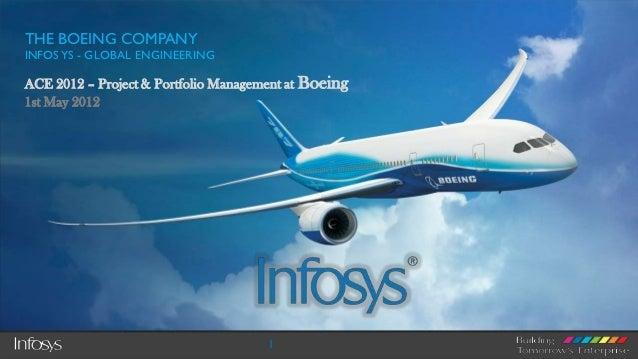 THE BOEING COMPANYINFOS YS - GLOBAL ENGINEERINGACE 2012 – Project & Portfolio Management at Boeing1st May 2012            ...