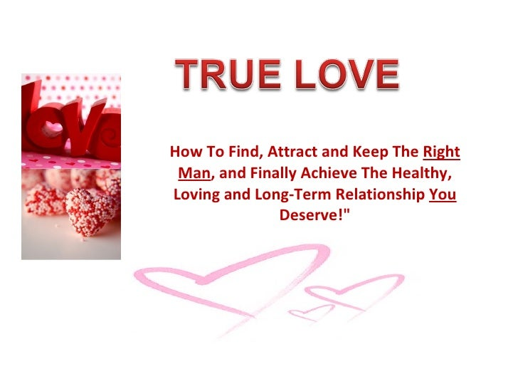 How To Be In A Loving Relationship