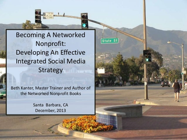 Fund for Santa Barbara: Networked Nonprofit Workshop