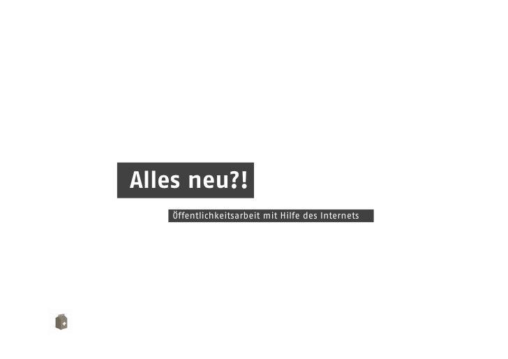 Onlinemarketing für die öffentliche Hand - Socialbar Bonn