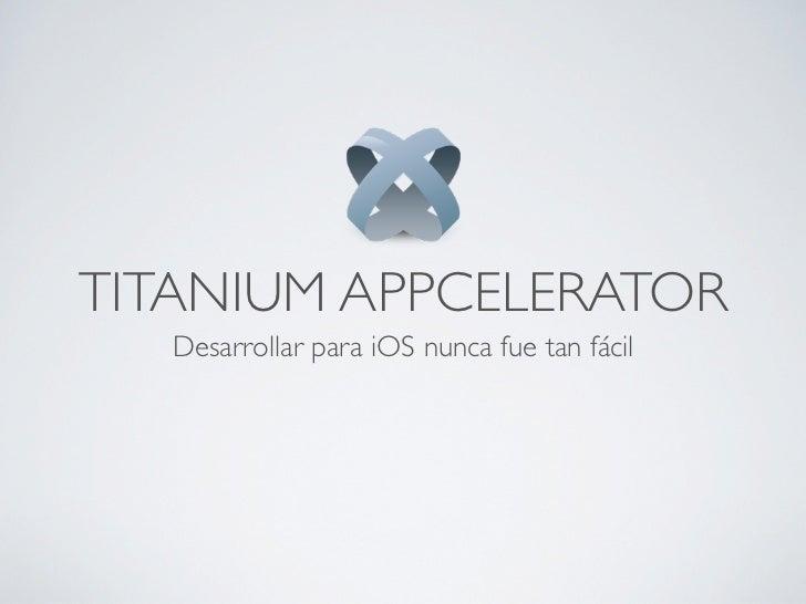 Slides titanium