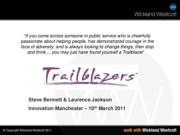 Trailblazer Inspiring Innovation