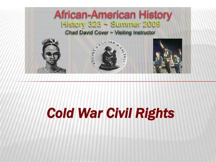 Cold War Civil Rights<br />