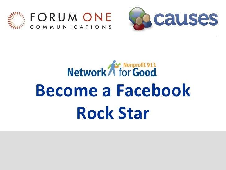 Become a Facebook Rock Star<br />