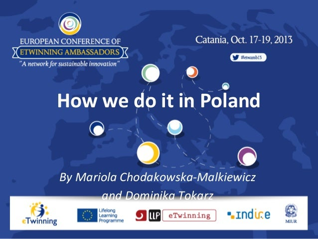 How we do it in Poland  By Mariola Chodakowska-Malkiewicz and Dominika Tokarz