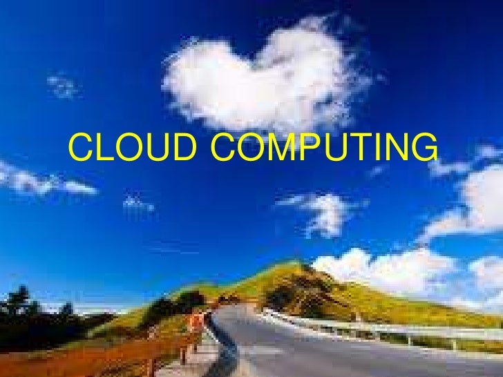 Slides cloud computing