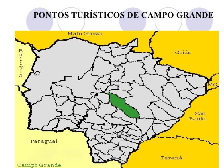 PONTOS TURÍSTICOS DE CAMPO GRANDE