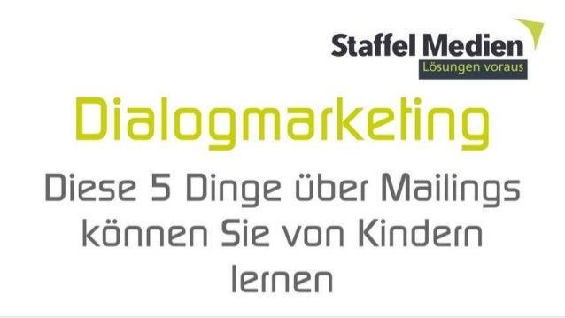 Dialog Marketing ins ❤ Ihrer Kunden