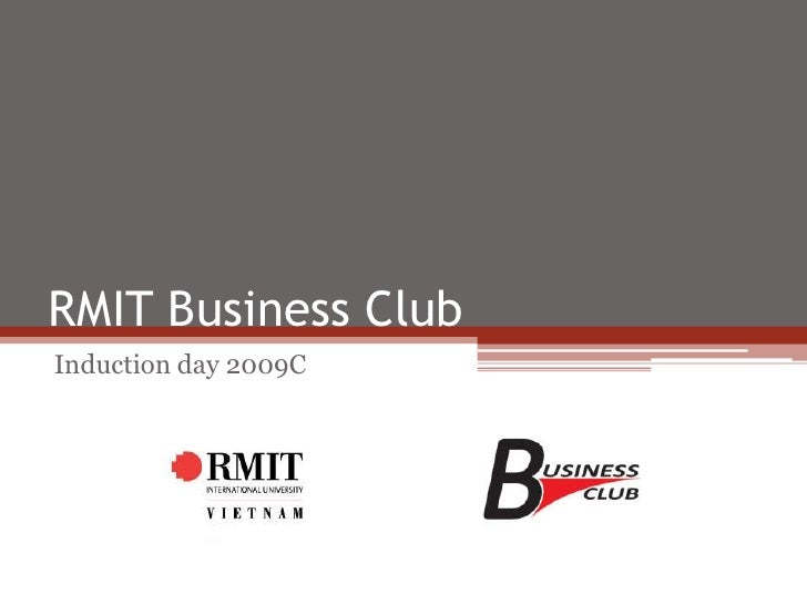 RMIT Business Club<br />Induction day 2009C<br />