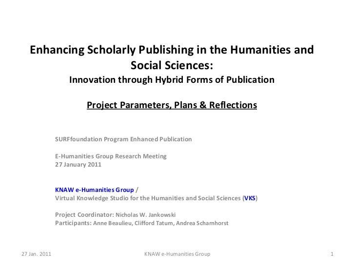 Slides e humanities presentation, 27jan2011