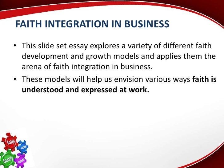 integration of faith busi 530