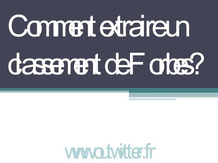 Comment extraire un classement de Forbes? www.outwitter.fr