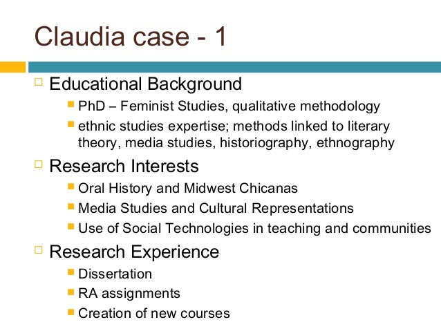 How to write statement of research interest for phd