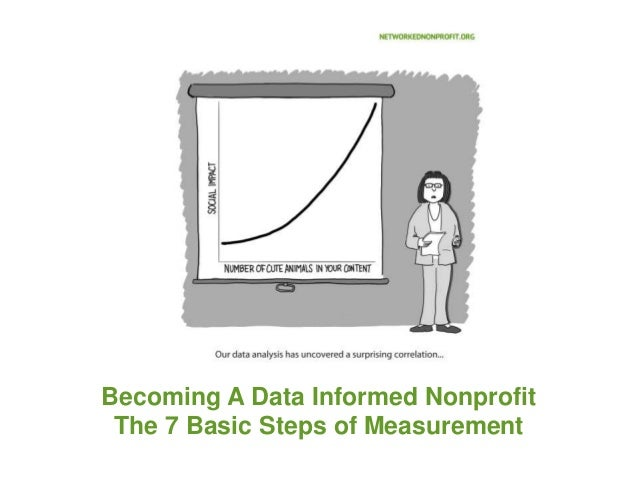 Becoming A Data Informed Nonprofit The 7 Basic Steps of Measurement
