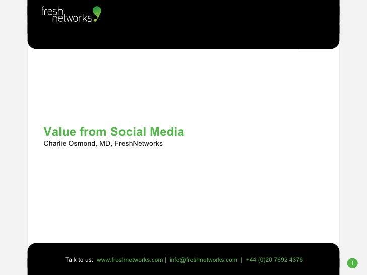 Don't Push 3 - Charlie Osmond over Social Media