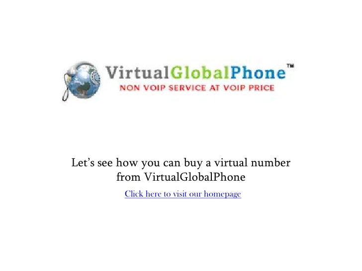 How to Signup for a Virtual number