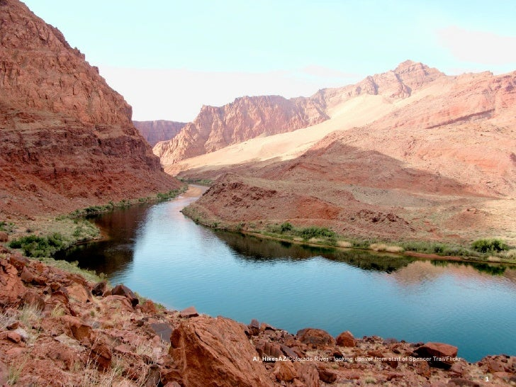 Al_HikesAZ/Colorado River - looking upriver from start of Spencer Trail/Flickr   © Copyright 2009 by Magnolia Internationa...