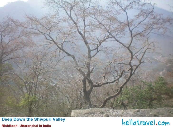 Deep Down the Shivpuri Valley  Rishikesh, Uttaranchal in India