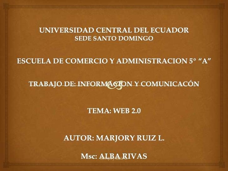 M@rjory Ruiz L.