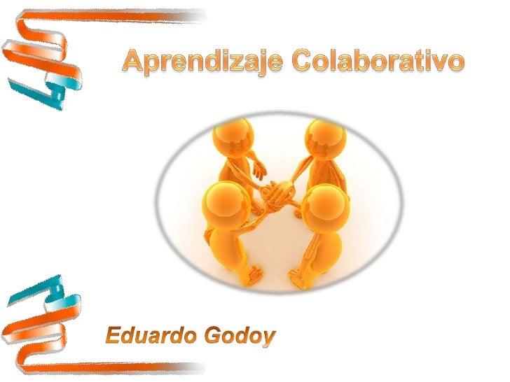 El término aprendizaje colaborativo hace                 referencia a metodologías de              aprendizaje que surgen ...