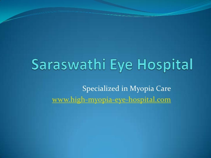 Specialized in Myopia Carewww.high-myopia-eye-hospital.com