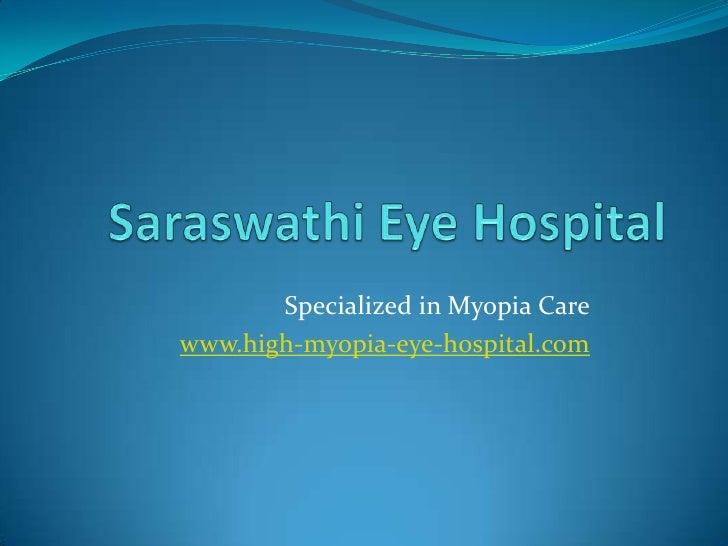 Myopia Eye Hospital India