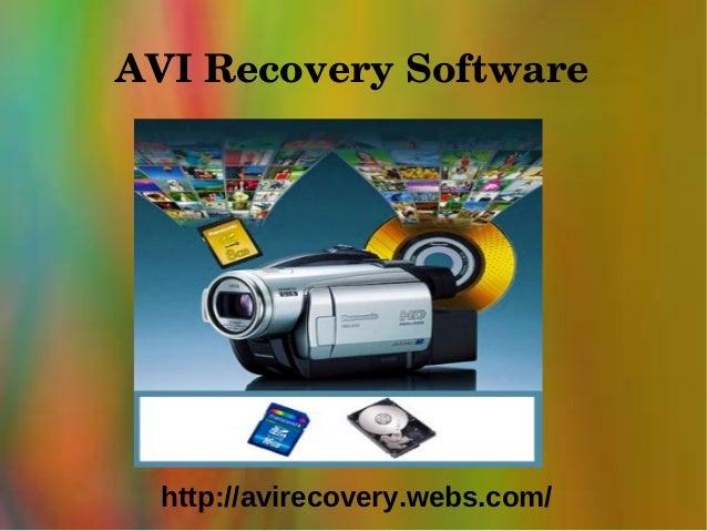 AVIRecoverySoftware  http://avirecovery.webs.com/