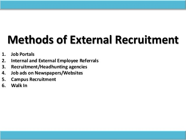 thesis on recruitment and selection practices