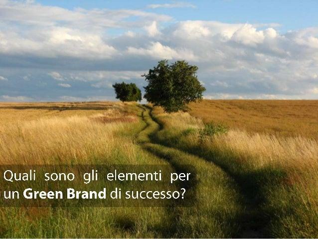 Quali sono gli elementi per un Green Brand di successo?