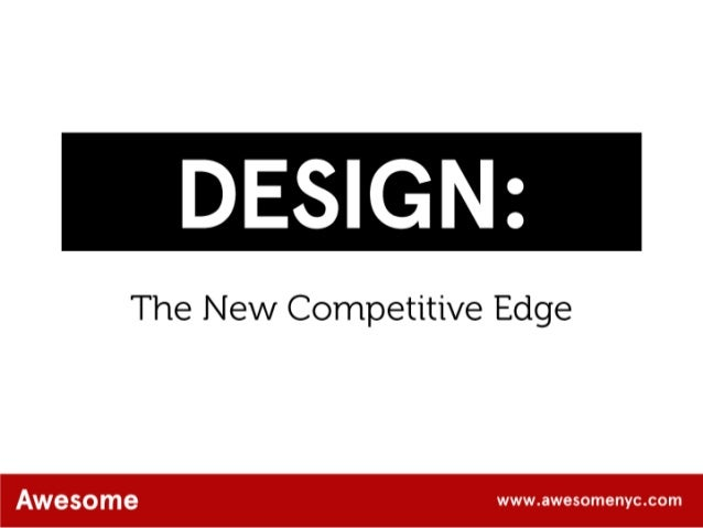 AwesomeNYC.com Design: The New Competitive Edge