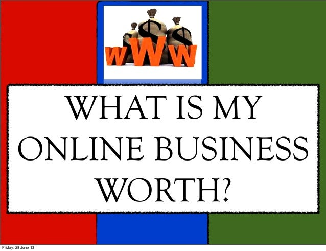 12 Tips For Online Business Valuation