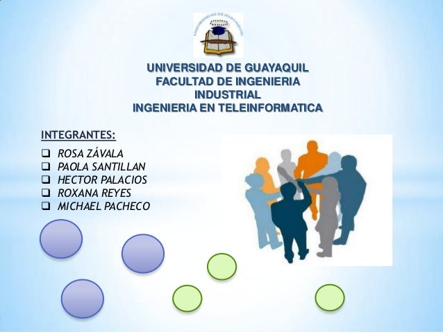 UNIVERSIDAD DE GUAYAQUIL FACULTAD DE INGENIERIA INDUSTRIAL INGENIERIA EN TELEINFORMATICA INTEGRANTES:  ROSA ZÁVALA  PAOL...