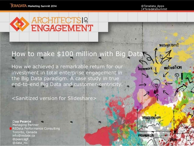 Creating $100 million from Big Data Analytics in Banking