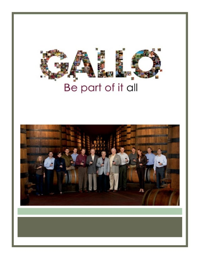 e j gallo winery case Gallo winery v andina licores e & j gallo winery, plaintiff andina is a private party in a contractual dispute with gallo, another private party the case.