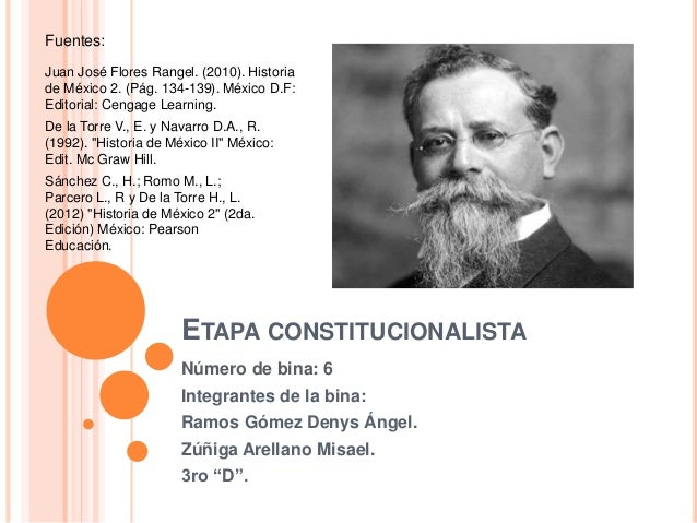 Juan José Flores Rangel. (2010). Historia  de México 2. (Pág. 134-139). México D.F:  Editorial: Cengage Learning.  De la T...