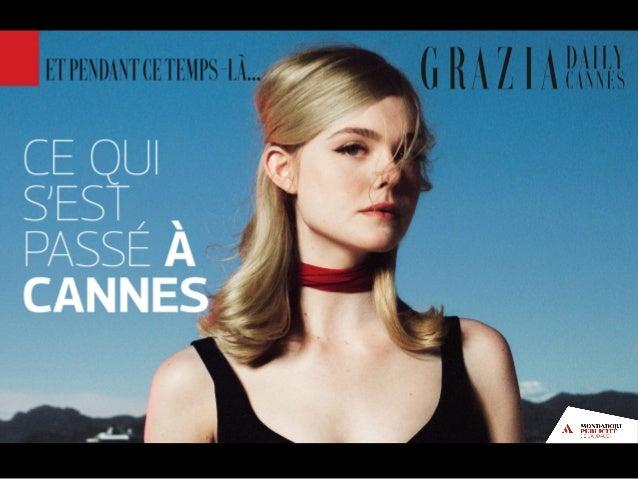 Grazia Daily Cannes 2016